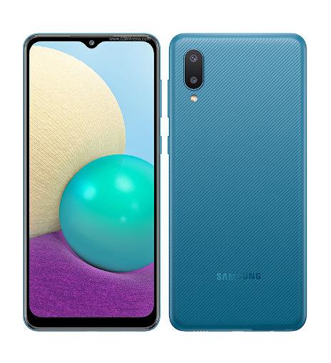 Samsung Galaxy A02 Blue 8