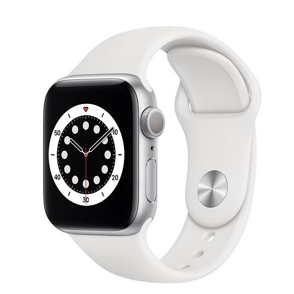 apple watch series6 40 silver